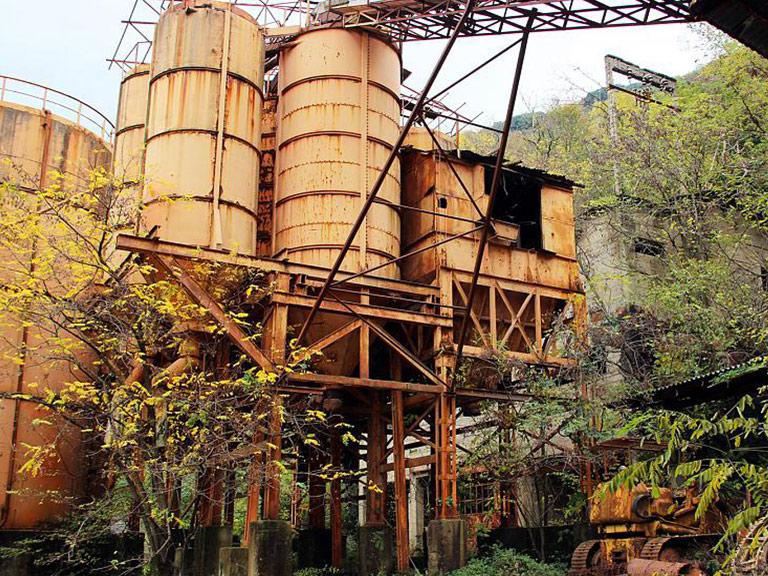 Ex miniera Edem Valdicastello (LU)