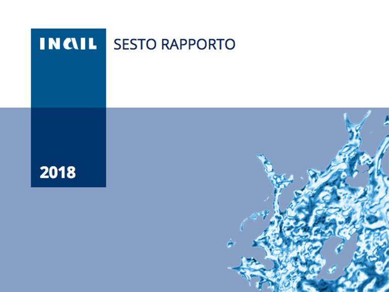 Copertina del VI Rapporto del Registro Mesoteliomi