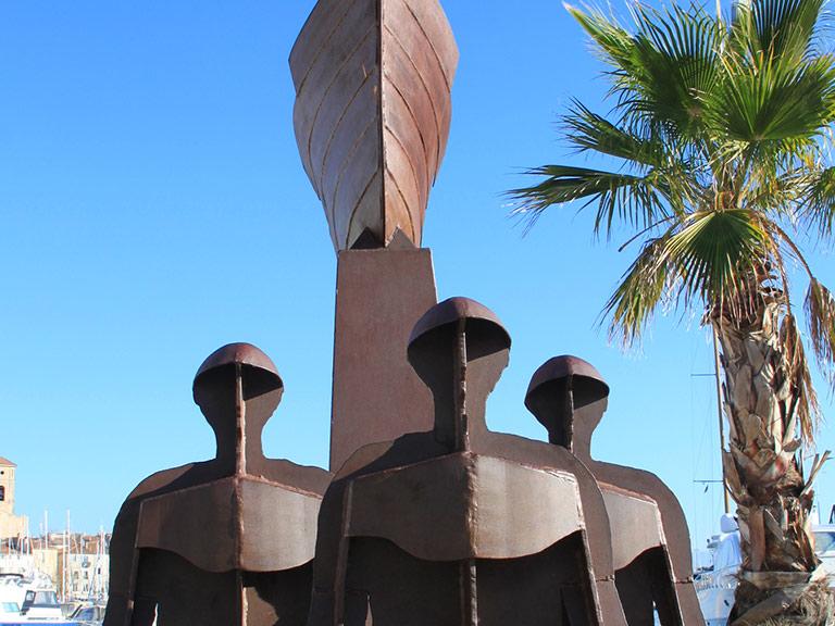 Monumento corso dedicato alle vittime dell'amianto