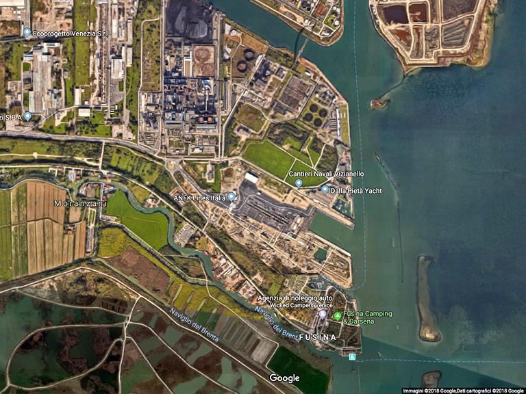 Porto Margera (VE) Google Maps