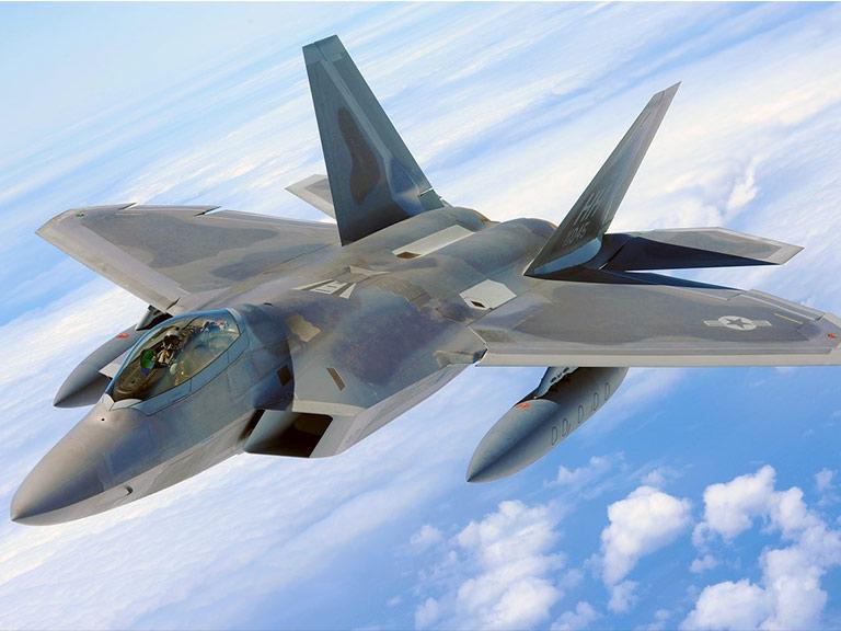 Jet raptor in dotazione all'eronautica militare