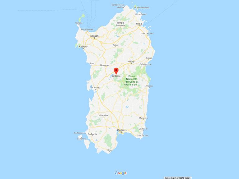 Sardegna Google Maps
