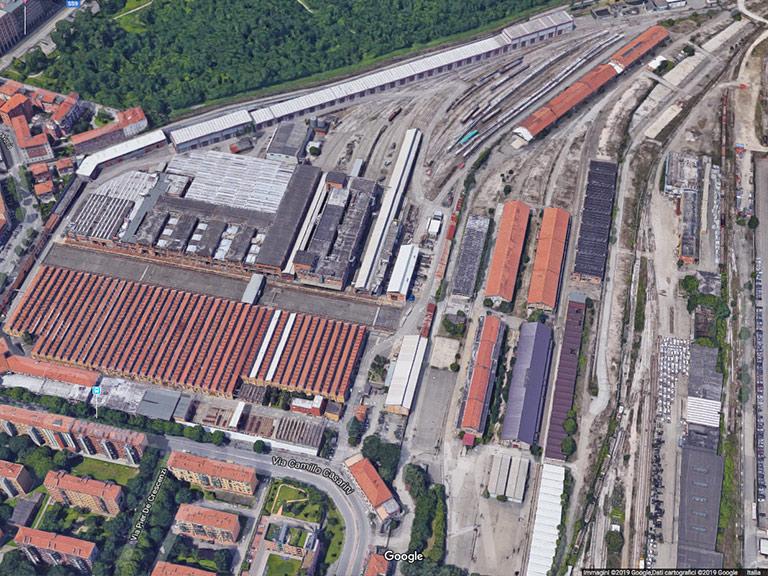 Ex stabilimento OGR Bologna