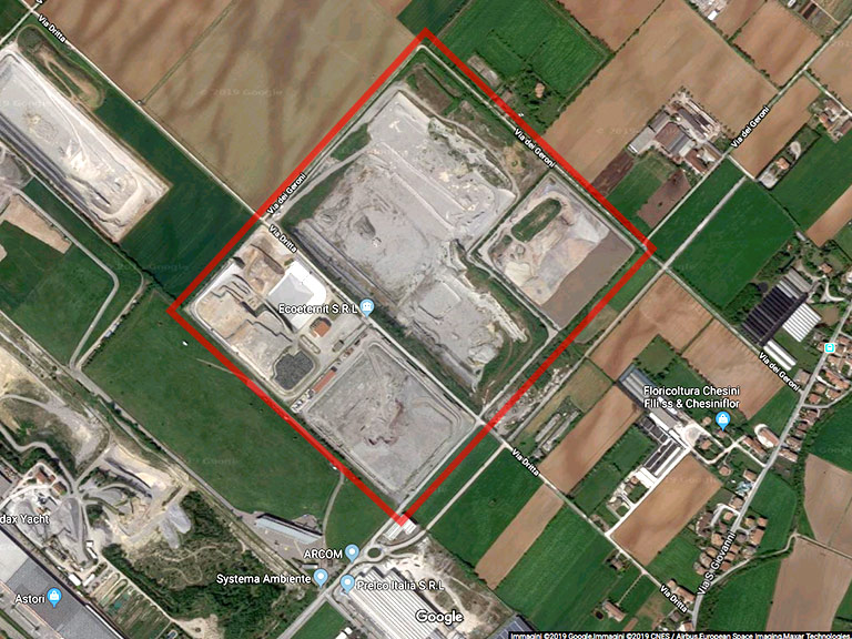 Discarica di Montichiari (BS) - Google Maps