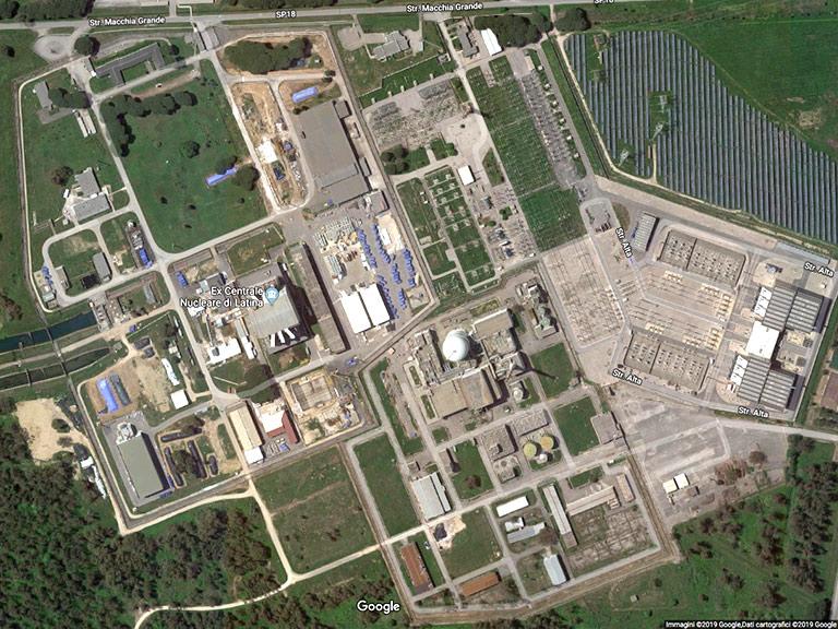 Centrale Nucleare di Borgo Sabotino (LT) Google Maps