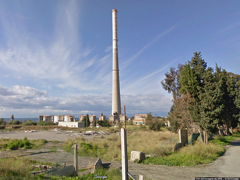 ex stabilimento Liquichimica di Saline joniche (RC) Google Maps