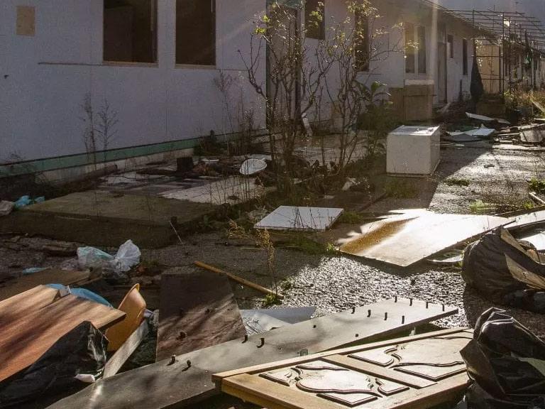 Area prefabbricati terremoto Irpinia a Pregiato