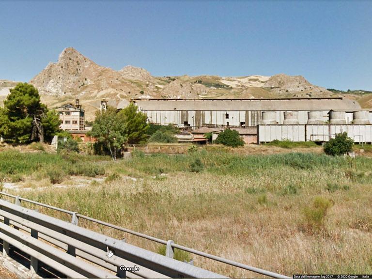 Ex stabilimento Montedison di Casteltermini